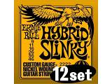 Ernie Ball 2222 - Hybrid Slinky - 9-46 -  idea regalo 12 set corde